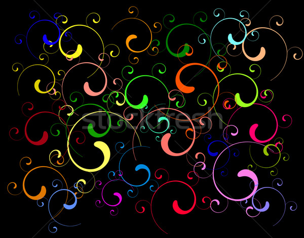 Twirls Stock photo © Tawng