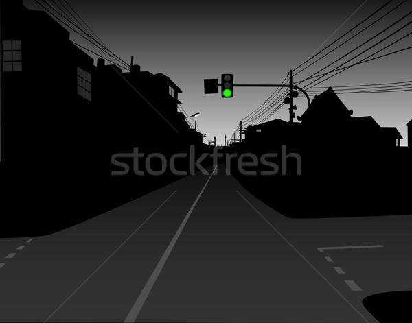 Green light Stock photo © Tawng