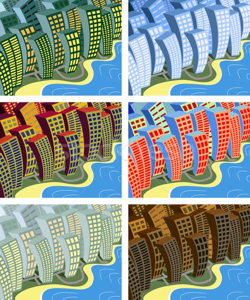 City sway Stock photo © Tawng