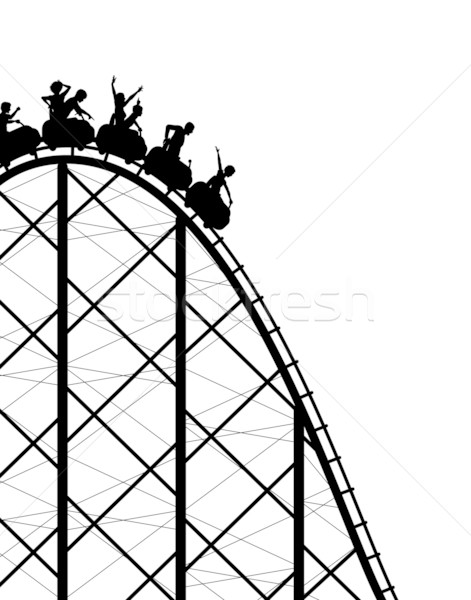 Rollercoaster Stock photo © Tawng