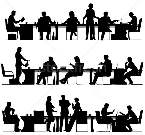 Business meeting Stock photo © Tawng