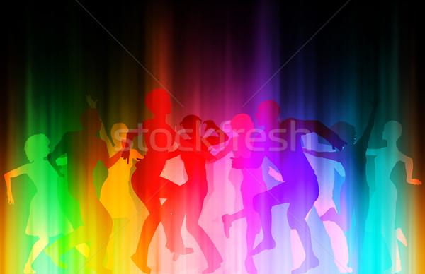 Color disco Stock photo © Tawng