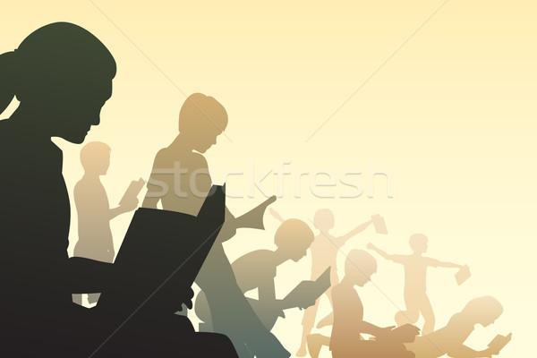 Book club Stock photo © Tawng