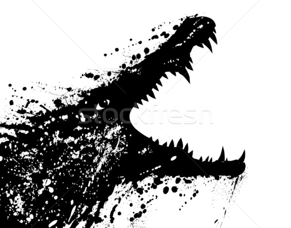 Crocodile Stock photo © Tawng