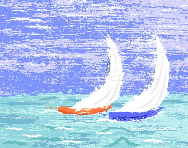 Yachts Stock photo © Tawng