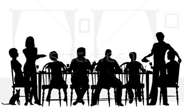 Resultado de imagem para almoço de família aos domingos ilustração