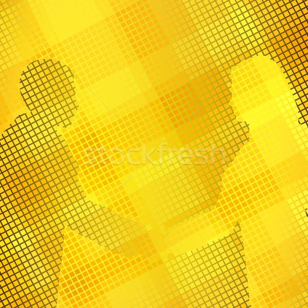 Or handshake deux gens d'affaires serrer la main Photo stock © Tawng