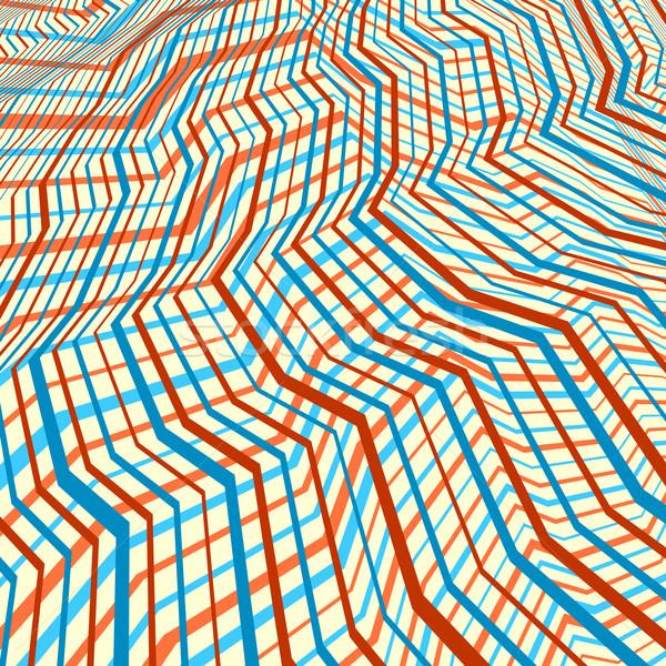 параллельному линия аннотация вектора шаблон Сток-фото © Tawng