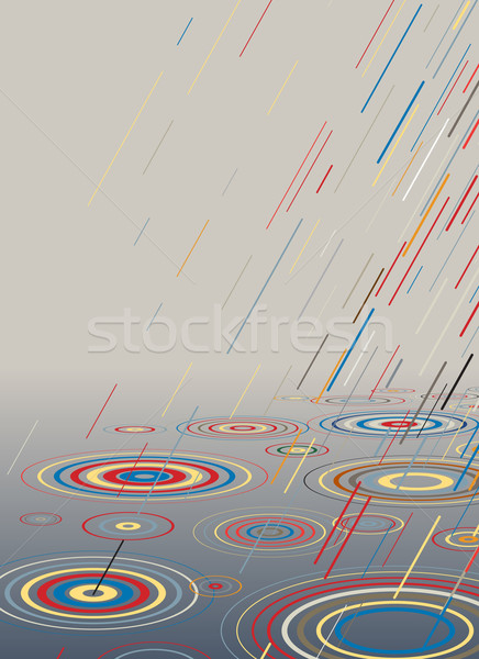 Color rain Stock photo © Tawng