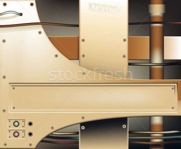 Bronze metalwork Stock photo © Tawng