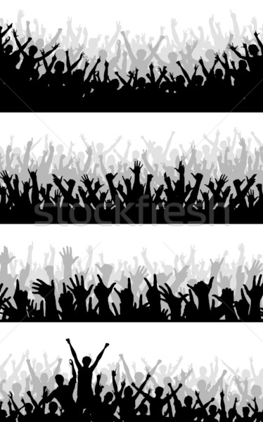 Crowd foregrounds Stock photo © Tawng
