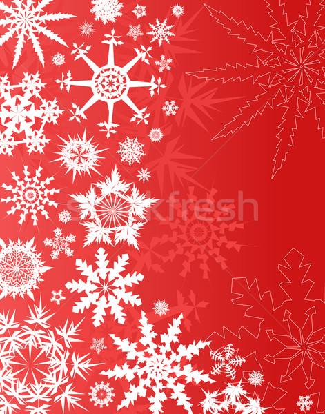 Snowfall Stock photo © Tawng