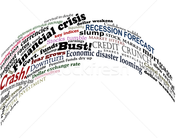 Financial jumble Stock photo © Tawng