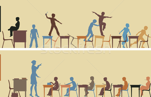 Classroom Stock photo © Tawng