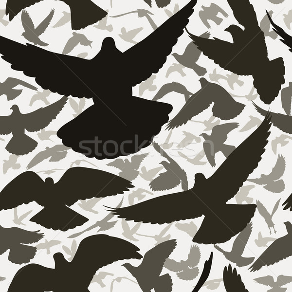 Pigeon tile Stock photo © Tawng