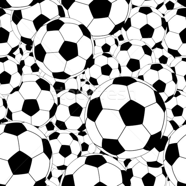 Soccer ball tile Stock photo © Tawng