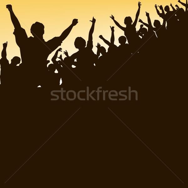 High crowd Stock photo © Tawng