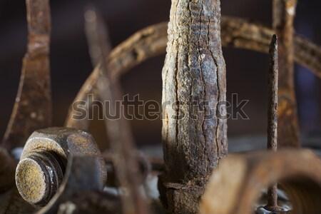 Scrap metal array Stock photo © Tawng