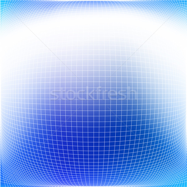 Grid abstract vector patroon Blauw Stockfoto © Tawng