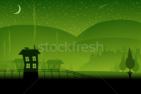 Green hills Stock photo © Tawng