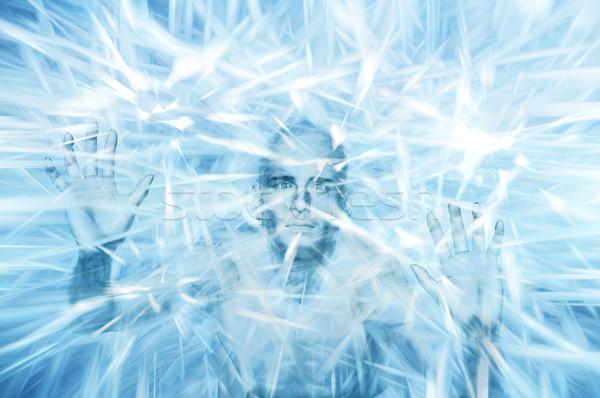 Iceman Stock photo © Tawng