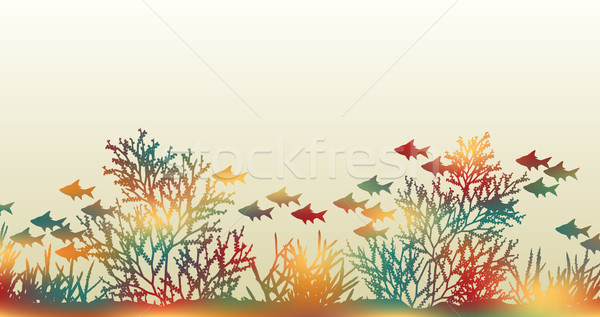 Color coral Stock photo © Tawng