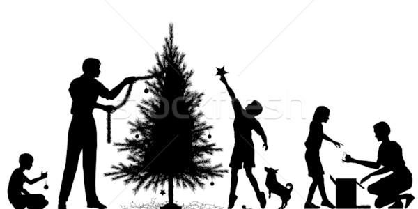 Christmas preparation Stock photo © Tawng