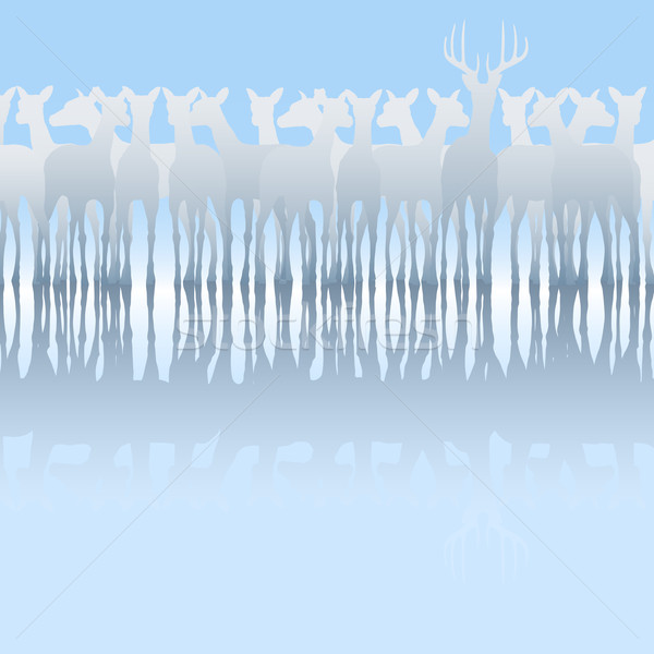 Deer Stock photo © Tawng
