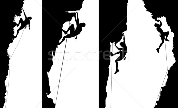 Stock photo: Climber side panels