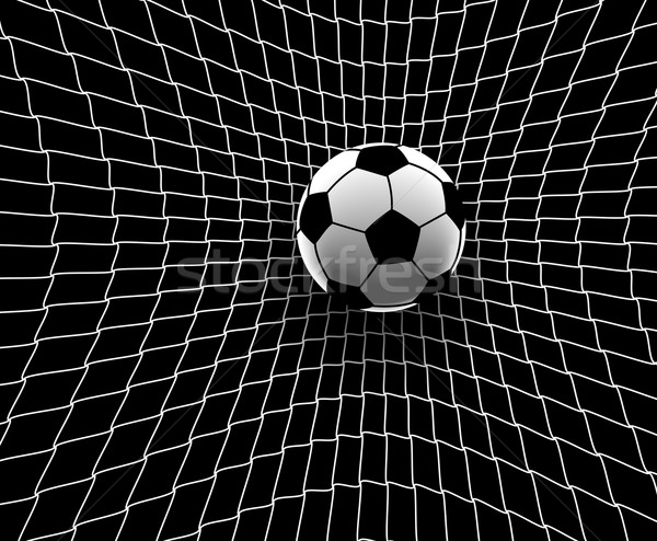 Football goal Stock photo © Tawng