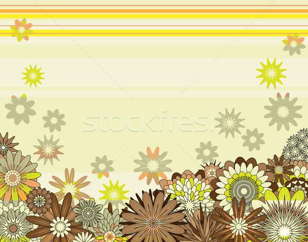 Floral design mixte fleurs fleur Photo stock © Tawng