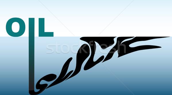Oil slick Stock photo © Tawng