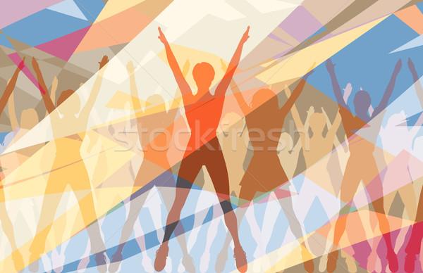 Aerobic dance Stock photo © Tawng
