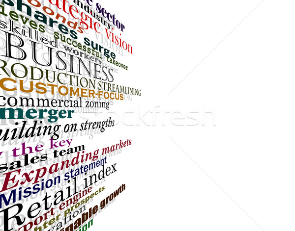 Business words Stock photo © Tawng