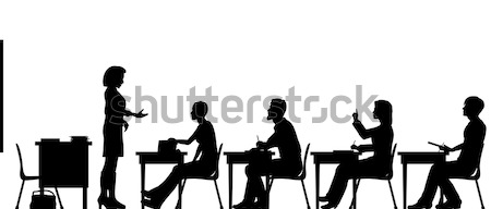 Adult education Stock photo © Tawng