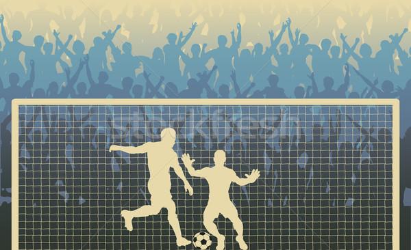 Penalty kick Stock photo © Tawng