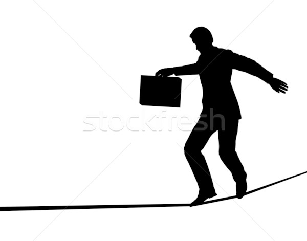 Tightrope walker Stock photo © Tawng
