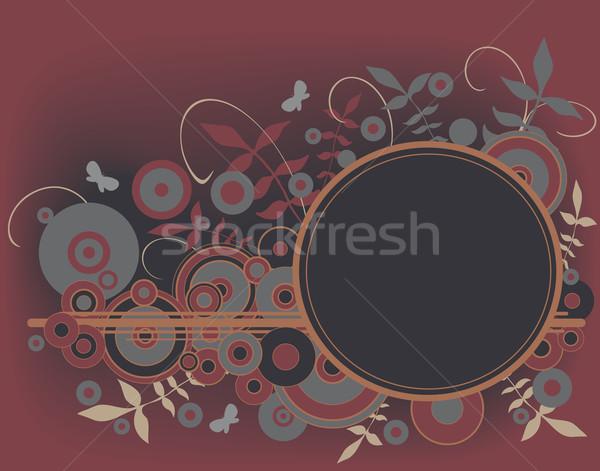 élément vecteur design usine Photo stock © Tawng