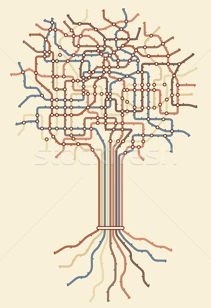 Subway tree Stock photo © Tawng
