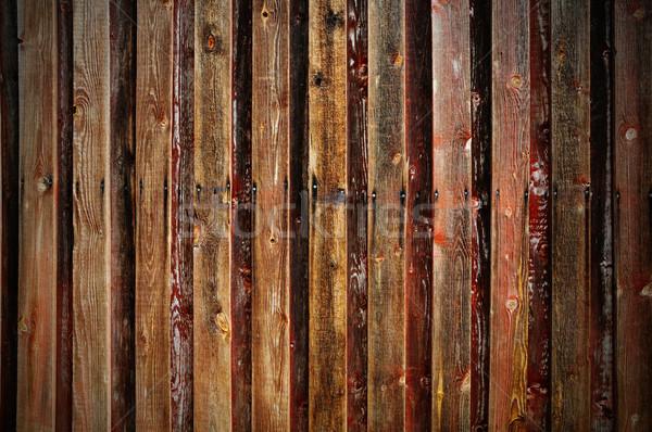 納屋 壁 ラフ 木製 古い 建物 ストックフォト © Tawng