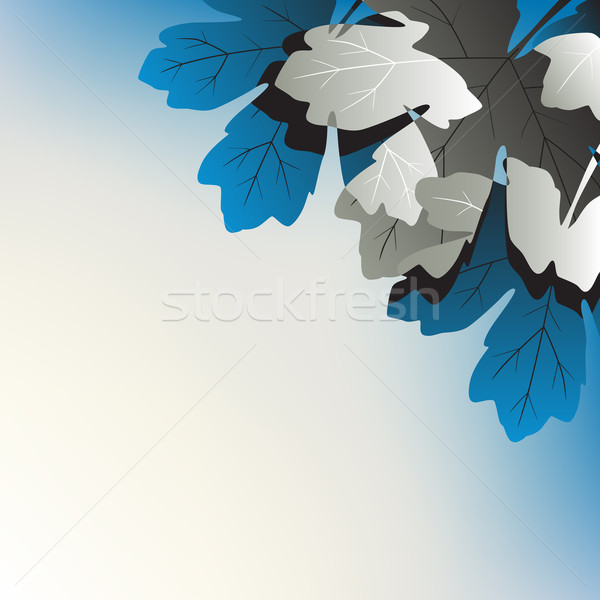Leafy corner Stock photo © Tawng