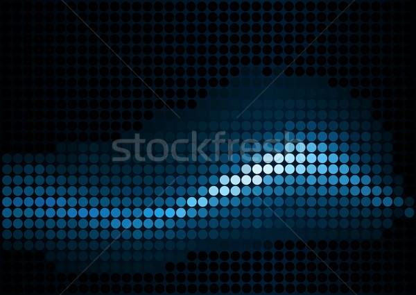 Stock photo: Dot background