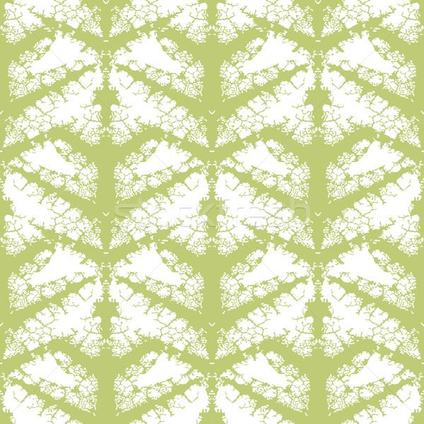Yaprak grunge duvar kağıdı düzenlenebilir vektör Stok fotoğraf © Tawng