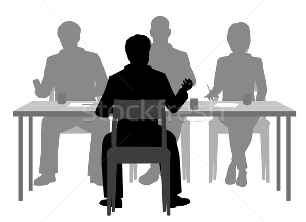 Interview panel Stock photo © Tawng