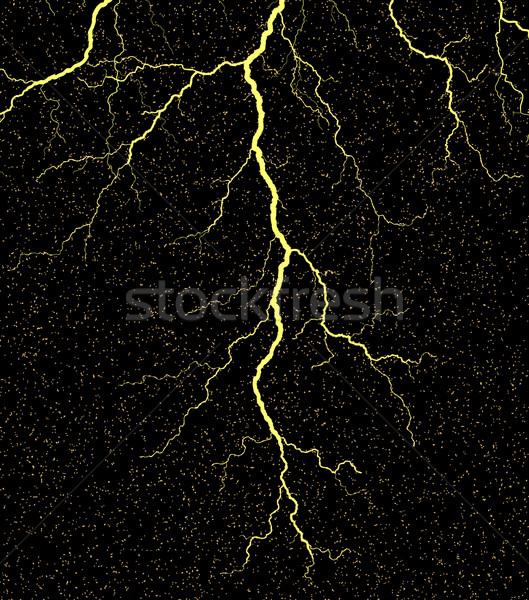 Fulmini grunge sfondo notte elettrica Foto d'archivio © Tawng