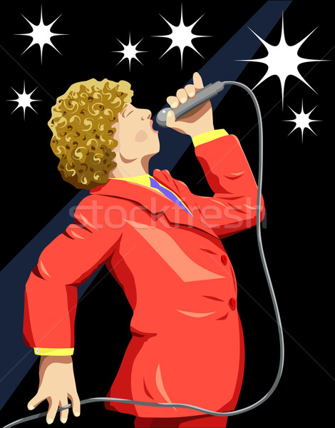 Singer Stock photo © Tawng