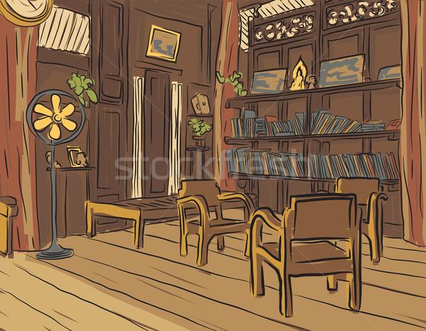 Reading room Stock photo © Tawng