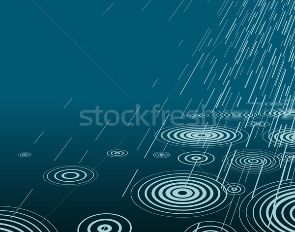 Night rain Stock photo © Tawng