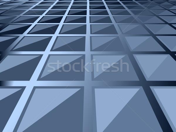 Vecteur design bleu résumé graphique Photo stock © Tawng