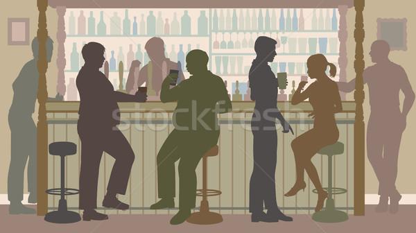 Social bar Stock photo © Tawng